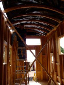 Roof_plastic_installation