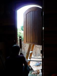 Dutch door installation